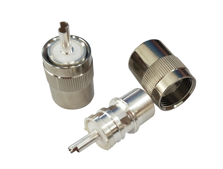 UHF PL259 male rf coaxial cable plug